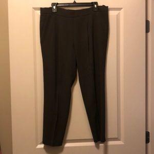 Olive green Babaton dress pants